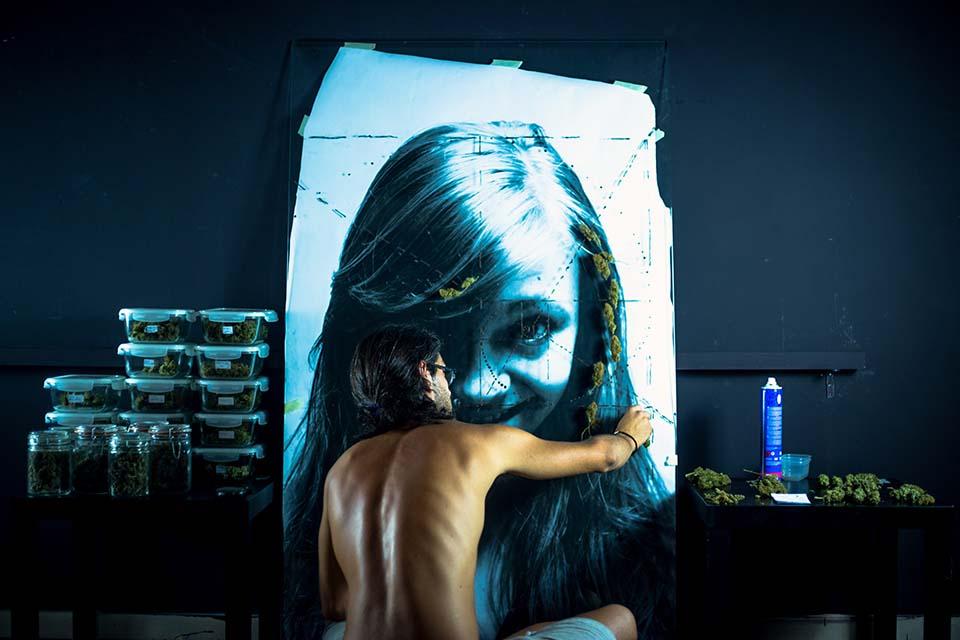 Chi è Sea162, l'artista che trasforma la Canapa in opera d'arte